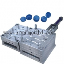 8 cavities flip top cap mould 1