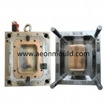 5.8L hot runner thin wall contanier mould with Anti-theft clasp