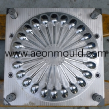 24 cavities Disposable plastic spoon mould